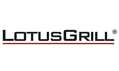 /¡Nuevo 2019! LotusGrill Standard LGG34 U GR Verde Barbacoa con bater/ías y Cable de alimentaci/ón USB