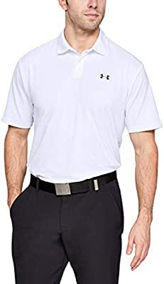 Under Armour Performance Polo 2.0, Hombre, Blanco (White/Pitch ...