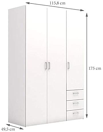 Armadio Altezza 190 Cm.Armadi Amazon It