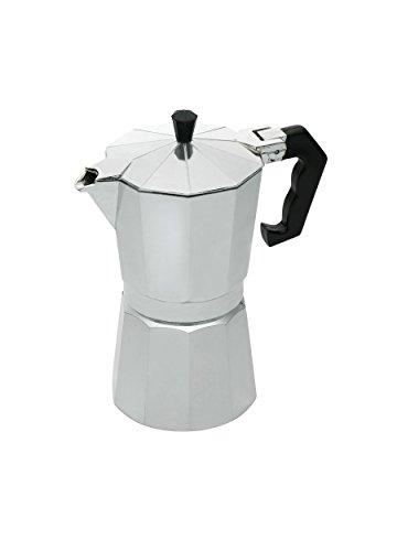 KitchenCraft Le'Xpress 6-Cup Stove Top Espresso Maker, 290 ml