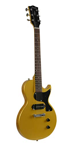 Firefly FFJR Solid Body Electric Guitar (Metallic Gold)