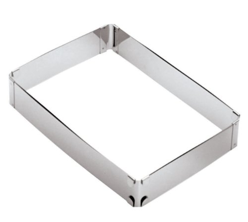 Sheet Pan Extender (Paderno World Cuisine Adjustable Rectangular Frame Extender (from 11 Inch x 7 1/2 Inch to 21 1/4 Inch x 13 3/8)