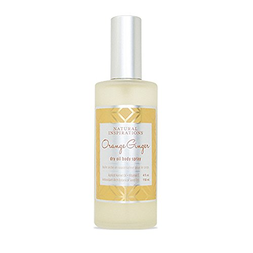 Ginger Body Spray - Natural Inspirations Orange Ginger Dry Oil Body Spray