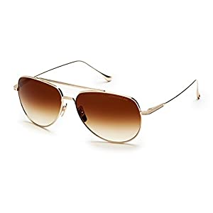 Sunglasses Dita FLIGHT. 004 7804 B-12K-POL 12K Gold w/D. BrownGold FlashPolariz