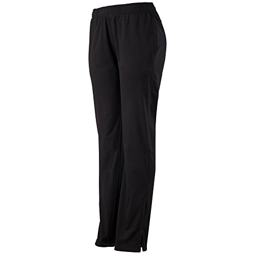 Augusta Sportswear Ladies Solid Brushed Tricot Pant S Black