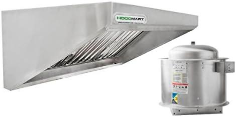 HOODMART Concession/Food Truck Trailer Hood System, 4-Foot X 30-Inch