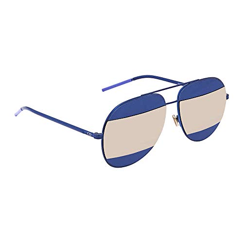 New Dior Sunglasses Women Split Blue QAOUE 59mm