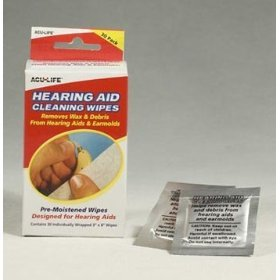 Hearing Aid Cleaning Wipes by Phonak