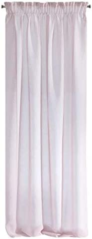 Eurofirany Elpidia Rideau /à Galon fronceur Blanc uni 140 x 270 cm Plastique 140 x 250 cm Menthe