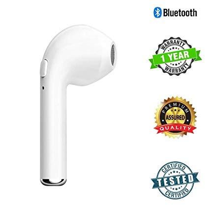 e963d040313 C4U HBQ-i7 in-Ear Bluetooth V4.1 + EDR Wireless: Amazon.in: Electronics