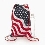 Patriotic Canvas Backpacks (1 dozen) – Bulk [Toy] For Sale