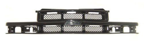 Chevy Chevrolet Blazer Grille Assembly - OE Replacement Chevrolet S10 Pickup/S10 Blazer Driver Side Grille Assembly (Partslink Number GM1200418)