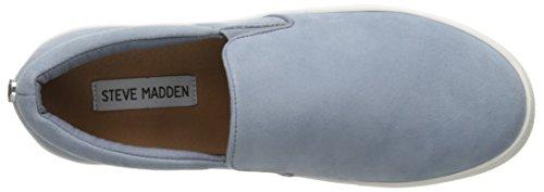 Steve Madden Frauen Gills Fashion Sneaker Hellblau