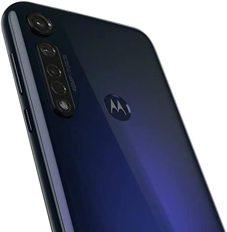 Moto G8+ plus | Unlocked | International GSM simplest | 4/64GB | 25MP Camera | 2019 | Blue