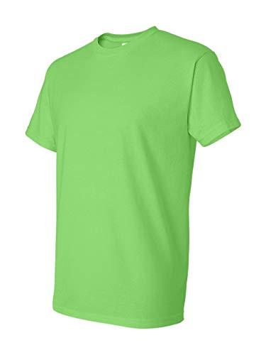 Gildan mens DryBlend 5.6 oz. 50/50 T-Shirt(G800)-LIME-M