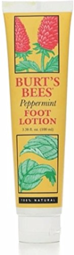 Burt's Bees Foot Lotion Peppermint -- 3.38 fl oz