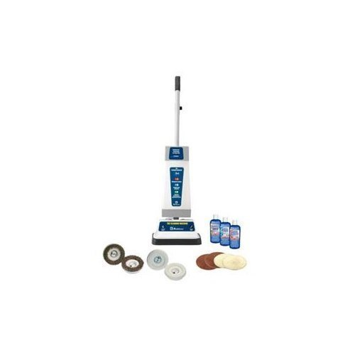 Koblenz P-820 B Shampooer/Polisher Cleaning Machine with T-Bar Handle, Blue/Gray