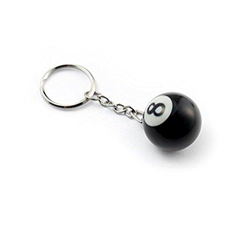 - BeeSpring 8 Ball Keychain Creative Key Chain