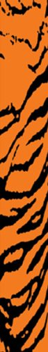 Bohning 7'' Printed Wrap 7'' Orange Tiger Standard Arrow Wrap, 12pk by Bohning