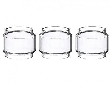 3x Bombilla Tubo de vidrio Pyrex # 2 para SMOK TFV12 PRINCE Tanque, Este producto no contiene nicotina ni tabaco