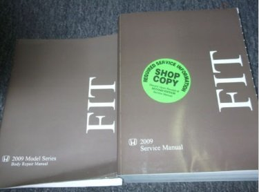 2009 HONDA FIT Service Shop Repair Manual BOOK FACTORY OEM DEALERSHIP BOOK (Honda Fit Repair Manual compare prices)