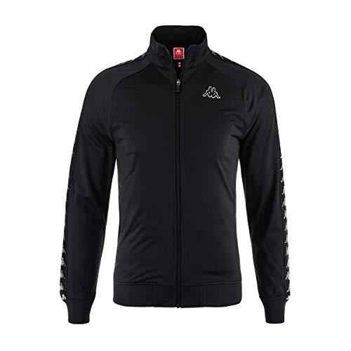 Kappa Men's Clothing Sweatshirt with Zip 301EFU0 C35 Banda Anniston Slim L Nero