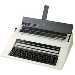 - NAKAJIMA AE-710 Electronic Typewriter, 2cps Print Speed, Automatic Centering, Automatic Carrier Return, Automatic Word Correction, Automatic Underlining, Bold Type, 10 line/700 character memory