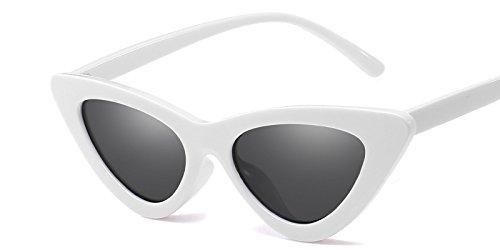 Mal De Vintage Gato Gafas De Sol C10 De Matices Amarillo Sexy C2 Whion TIANLIANG04 Mujer Gray Sol De Gafas Ojo Gafas Hembra Uv Diseño Blanco Gafas q0WAwz7
