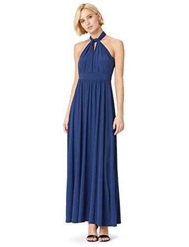 Femme FABLE amp; Bleu Blue Convertible Longue Medival Robe TRUTH x1HqF