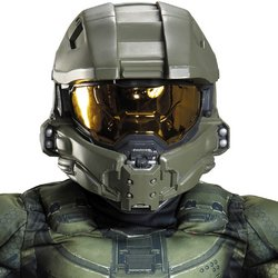 Halo: Master Chief Child Full Helmet PROD-ID : 1920395 (Halo Master Chief Kids Costume)
