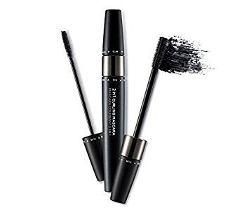 The Face Shop 2 in 1 Curling Mascara (8.5g 0.29 Oz) 2017 NEW (Black) (The Face Shop 2 In 1 Curling Mascara)