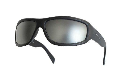 Dillon Optics Smoke Sunglasses Silver - Reflecting Sunglasses