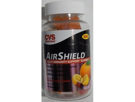 CVS Pharmacy AirShield Adult Immunity Support Dietary Supplement 42-count Gummies (1 Bottle)