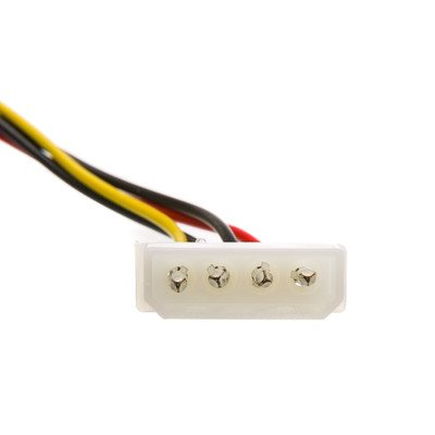 6 inch, 4 Pin Molex to Floppy, Power Cable ( 100 PACK ) BY NETCNA by NETCNA (Image #3)