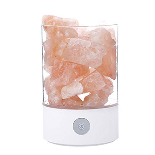 Bluefringe Night Light M2 Himalayan Crystal Salt Lamp Natural Negative Ion USB Charging Creative Gift by Bluefringe (Image #1)