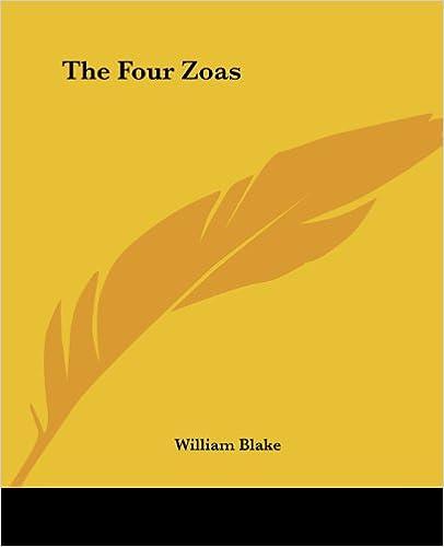 the four zoas poem