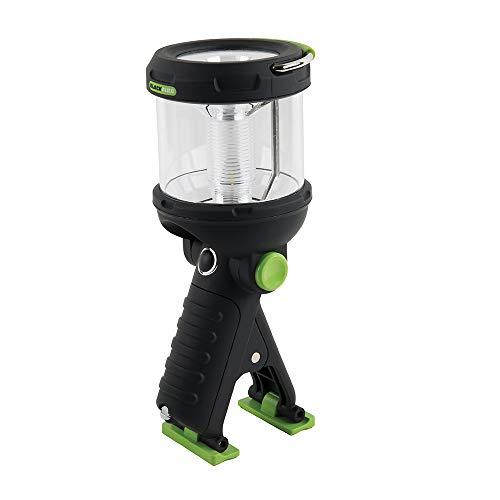 Lantern Flashlight Clamp Light, 230 Lumen LED, Water Resistant, for Camping, Outdoors, more Blackfire BBM910 ()