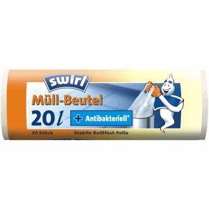 Swirl bolsas de basura con mango 20L VE=20 unidades ...