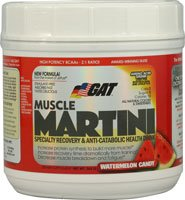 GAT Muscle Martini Watermelon Candy - 365 g (Quantity of 2)