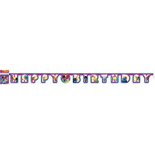 Trolls Birthday Wall Banner