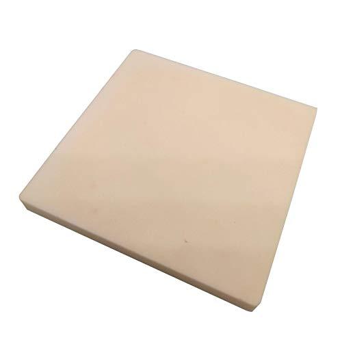 80 x 80 x 8mm 99% Alumina Ceramic Crucible Square Cover Board 1600 C ()