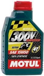 Motul 300V 4T Competition Synthetic Oil - 10W40 - 1L. 836111 / 101348 ()