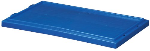 Akro-Mils 35301 Lid for 35300 Plastic Nest and Stack Tote, Blue, Case of 3 by Akro-Mils
