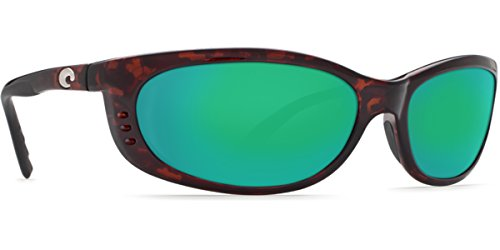 Costa del Mar Unisex-Adult Fathom FA 10 OGMGLP Polarized Iridium Oval Sunglasses, Tortoise, 60.5 - Fathom Sunglasses