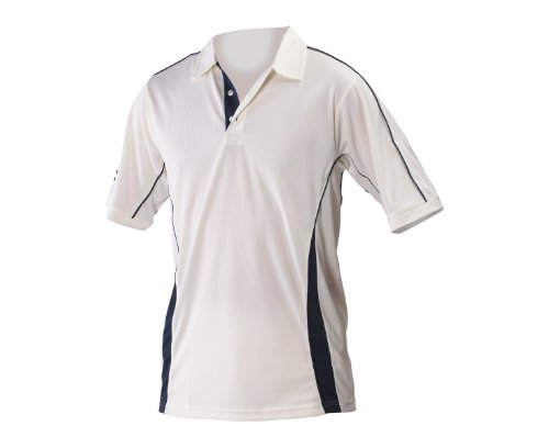 Players Cricket Shirt 2 Extra Large Navy Trim by Gray-Nicolls