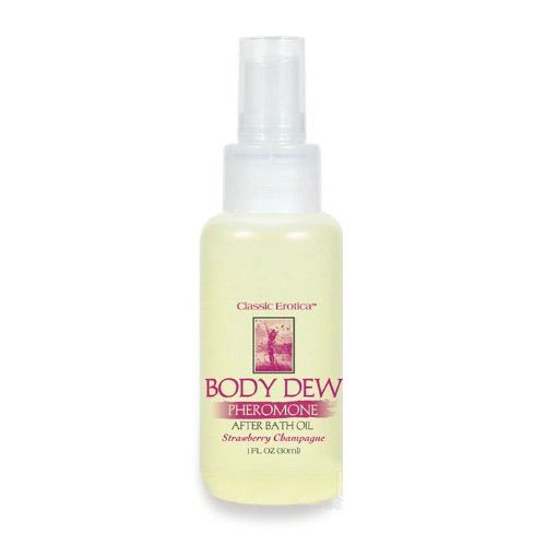 Classic-Erotica-Body-Dew-Bath-Oil-1-oz-Strawberry-Champagne