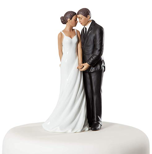 Wedding Collectibles Wedding Bliss African American Wedding Cake Topper (American African Wedding Cake Topper)