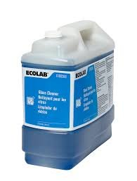 ECOLAB 6100288 Glass Cleaner- 2.5 Gallon by Ecolab