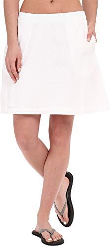 Columbia Women's Sun Drifter Skirt, Small, White Swiss Dot ()