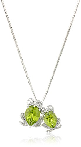 xpy-sterling-silver-mother-and-baby-frogs-peridot-with-diamond-accent-pendant-necklace-18